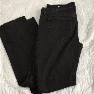 Joe's black jeans